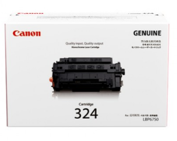 HỘP MỰC IN CANON 324 BLACK TONER CARTRIDGE
