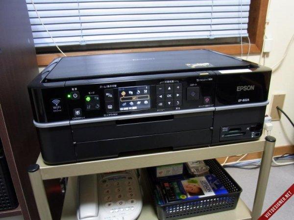 Máy in ảnh 6 màu Epson EP-802A in WIFI