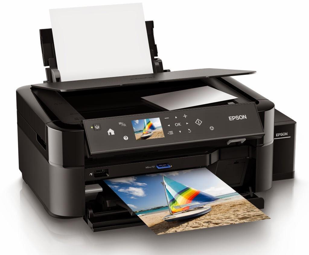 Máy in đa năng Epson L850, in, copy, scan, có mực tiếp ngoài chính hãng