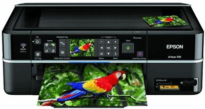 Máy in Epson EP-801A sử dụng 6 màu