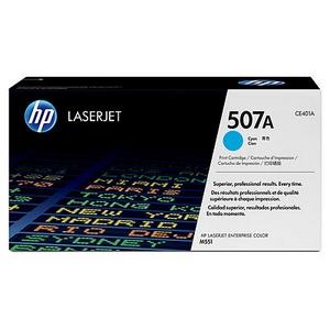 Mực in chính hãng HP 507A Cyan LaserJet Toner Cartridge (CE401A)
