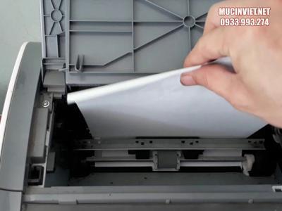 Cách sửa lỗi máy in canon 2900 in ra giấy trắng