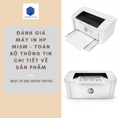 Đánh Giá Máy In HP M15W