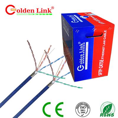 Dây cáp mạng Golden Link - 4 pair (SFTP Cat 5e) chống nhiễu 100m