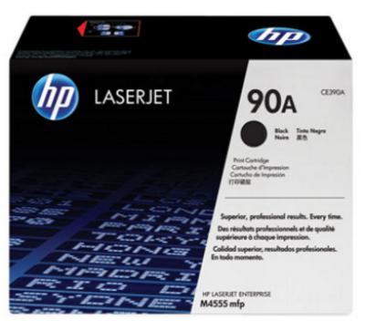 HỘP MỰC IN HP 90A BLACK LASERJET TONER CARTRIDGE (CE390A)