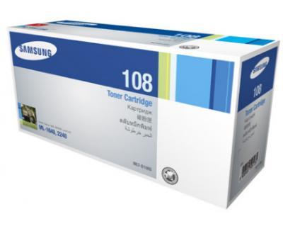 HỘP MỰC IN SAMSUNG MLT-D108S BLACK TONER CARTRIDGE