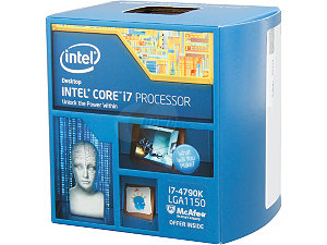 Intel Core i7-4790K Processor  (8M Cache, up to 4.00 GHz)