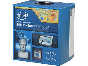 Intel Xeon Processor E3-1220 v3  (8M Cache, 3.10 GHz)