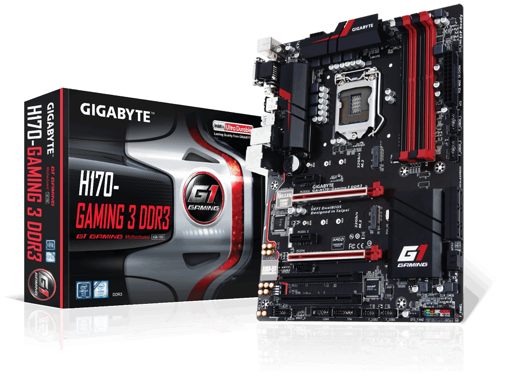 Main Gigabyte GA-H170-Gaming 3-DDR3, Socket 1151 (GA-H170-Gaming 3-DDR3 )