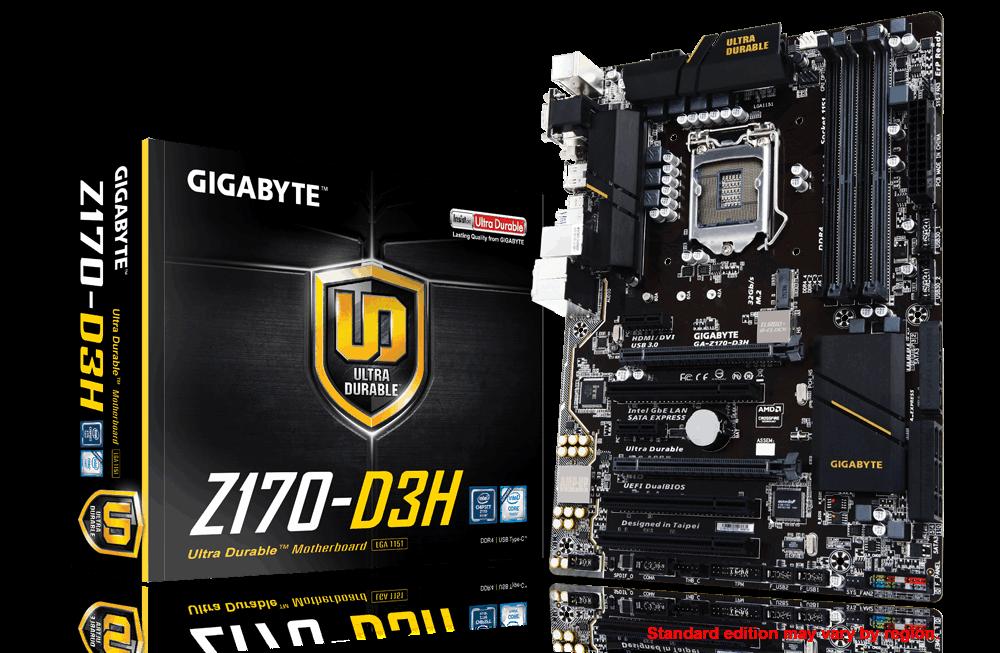 Main Gigabyte GA-Z170-D3H, Socket 1151 (GA-Z170-D3H)