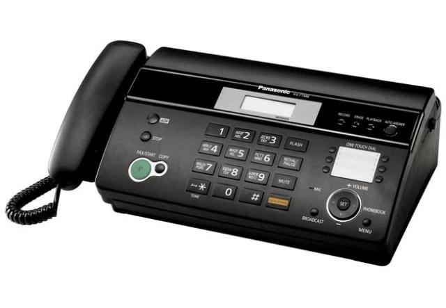 Máy fax nhiệt Panasonic KX FT987