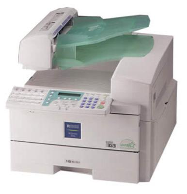 Máy Fax Ricoh 3310L Laser trắng đen