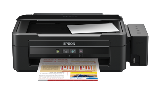Máy in Epson L350, In, Scan, Copy, In phun màu tiếp mực ngoài chính hãng