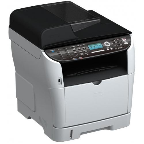 Máy in Ricoh SP3510SF, In, Scan, Copy, Fax, Laser trắng đen