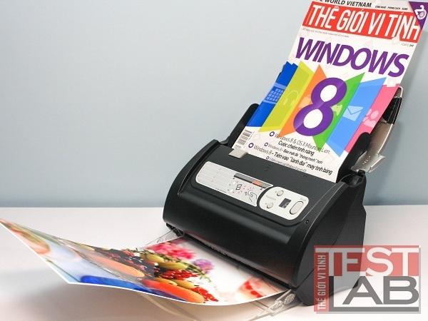 Máy scan tài liệu Plustek PS386