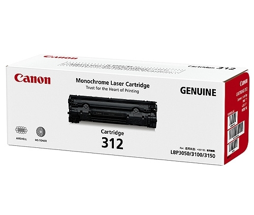 Mực in Canon 312 Black Toner Cartridge
