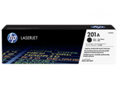 Mực in chính hãng Laser màu đen HP 201A Black Original LaserJet Toner Cartridge (CF400A)