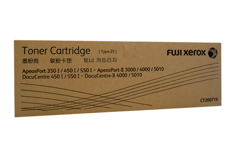 Mực in Fuji Xerox CT200719, Black Toner Cartridge (CT200719)