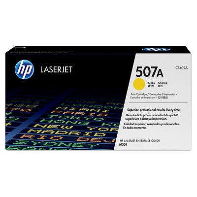 Mực in HP 507A Yellow LaserJet Toner Cartridge (CE402A)