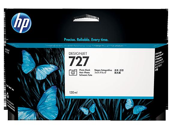 Mực in HP 727 130-ml Photo Black Designjet Ink Cartridge (B3P23A)