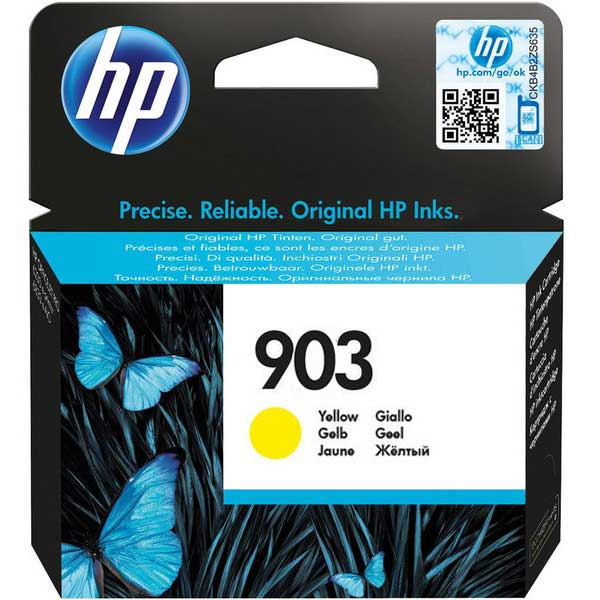 Mực in HP 903 Yellow Original Ink Cartridge (T6L95AE  )