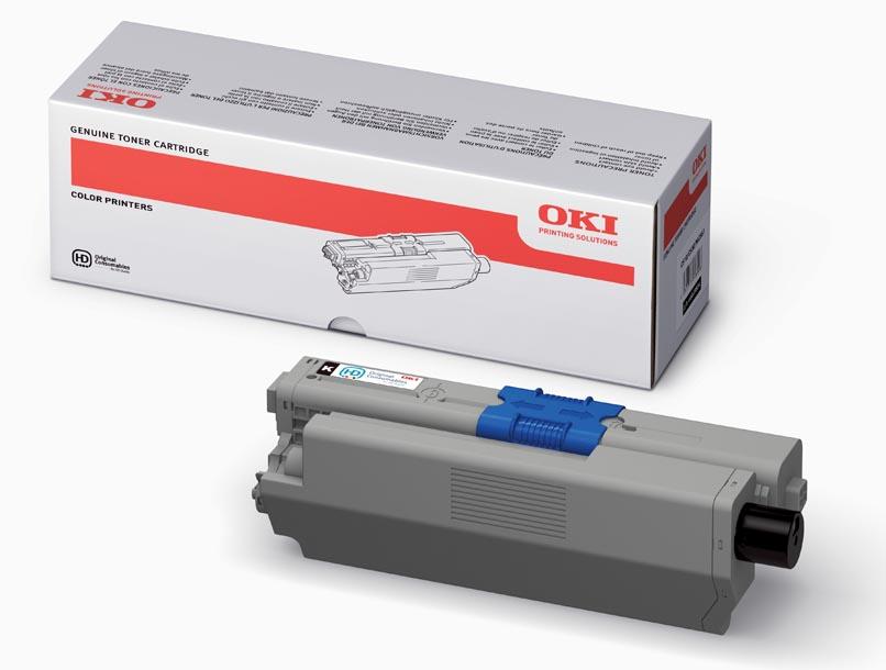Mực in OKI C310 Black Toner Cartridge