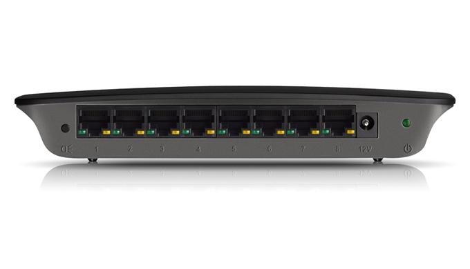 Switch Linksys SE2800, 8-Port Gigabit Ethernet (SE2800)