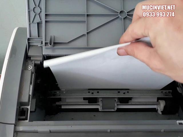 Hộp mực lỗi khiến máy in Canon 2900 in ra giấy trằng
