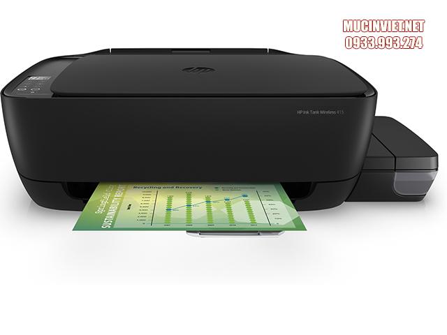 Máy in wifi HP Ink Tank 415 kết nối dễ dàng, sử dụng nhanh chóng